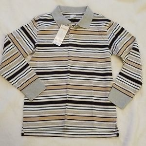 Boy's Gymboree Long Sleeve Polo NWT Size 7